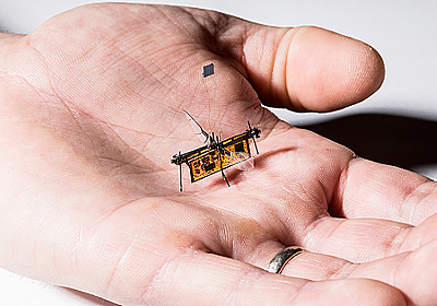 レーザーエネルギー伝送で飛行する昆虫型ロボット「RoboFly」 | fabcross