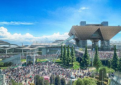 【日本の夏】C96コミケ会場を撮った写真が、まるでアニメの一場面のようだと話題に【コミケの夏】 - Togetter