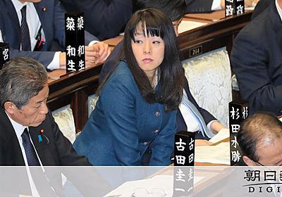 「女性いくらでもウソ」に抗議のデモ 杉田氏改めて否定:朝日新聞デジタル