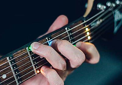 ギターの指を置く場所をLEDランプで教えてくれる「Fret Zeppelin」 - GIGAZINE