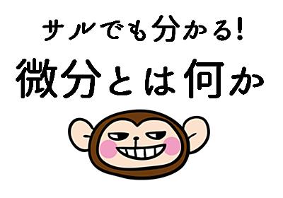 サルでも分かる!微分法とは何か - RepoLog│レポログ