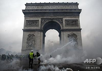 仏政府、燃料税引き上げ延期を発表へ 抗議デモ広がりを受け 写真3枚 国際ニュース:AFPBB News