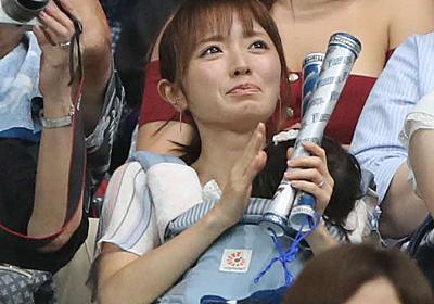 日本ハム杉浦、妻紺野あさ美さんの前で移籍後初勝利 - プロ野球 : 日刊スポーツ