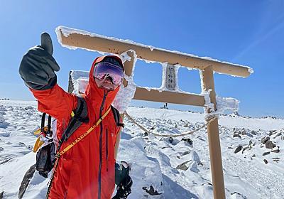 【雪山レポ】日本百名山・蓼科山(七合目登山口⇄山頂)/長野(2021年2月11日) | 山猿日誌