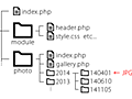 jQueryプラグイン、Colorboxを使ったギャラリーを動的に生成するPHP *Ateitexe