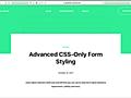 あまり知られていない、フォームをCSSでスタイルするために役立つ便利なセレクタとその使い方 | コリス