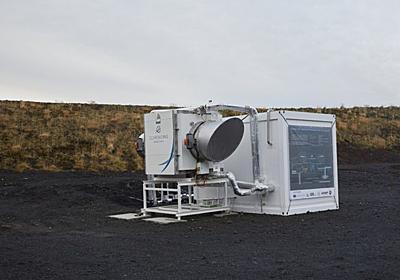 「二酸化炭素を石に変える」プロジェクトが、本格的に動き始めた|WIRED.jp