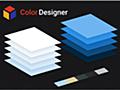 デザイン的に合う色の組み合わせを指定されたカラーをベースに生成する無料ツール -Color Designer | コリス
