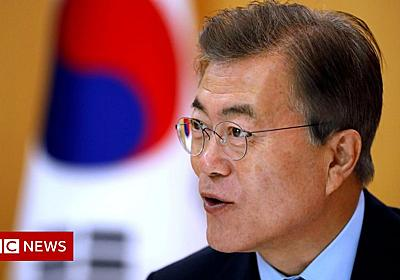 South Korea's Moon Jae-in: Caught between Trump and Kim - BBC News