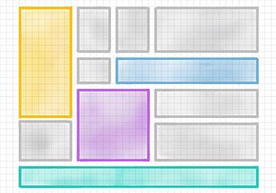 CSSグリッドレイアウトで、サイズが違う複数のボックスをタイル状に配置する | Webクリエイターボックス