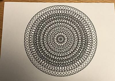 Processingで曼荼羅(マンダラ)塗り絵 - karaage. [からあげ]