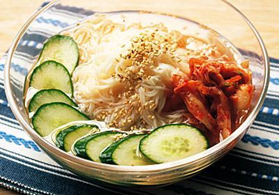 冷麺風そうめんの人気レシピ。簡単アレンジ作り方。 | つくりおき食堂