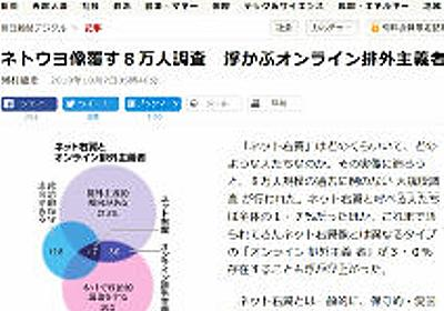 アホの朝日新聞「ネトウヨとは中国と韓国に対して排外的な言動を行う人」 | 保守速報