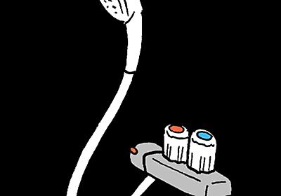 INAX シャワーホースの交換方法と費用、外れない?外し方(カクダイ 366-900-W)  |  urashita.com 浦下.com (ウラシタドットコム)