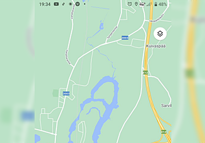 フィンランド在住者「うちの近くにいい感じの釣り場があるのだがどうも地形が気になって仕方ない」みんな「造形が細かすぎる」「立派すぎる」 - Togetter