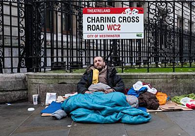 英国で消えゆく小銭、危機感を抱くホームレスの人々|WIRED.jp