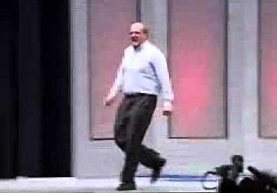 Steve Ballmer Runs Around Like A Maniac On Stage (Motivational Presentation)