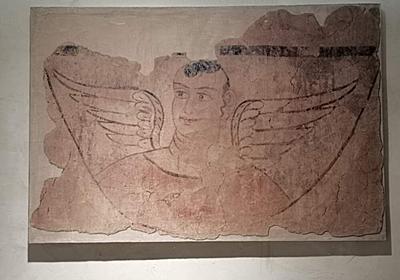 神秘的な「翼をもつ天使像」 壁画が語る新疆の仏教文化 写真6枚 国際ニュース:AFPBB News