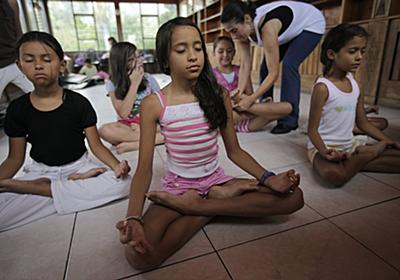 The Movement of Meditation Replacing Detention in Schools