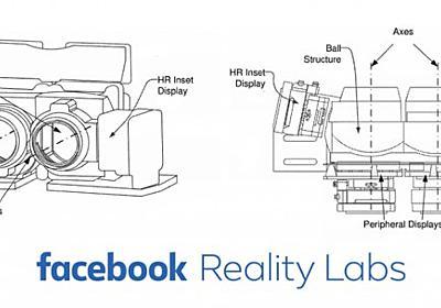 Facebook、人の眼の解像度を実現するVRヘッドセットの特許取得 | Mogura VR - 国内外のVR/AR/MR最新情報