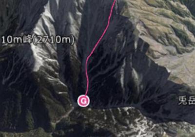 「ああ、これが死神か」登山で1000m滑落・遭難し大怪我を負いながらも生還した人の記録が凄まじい - Togetter