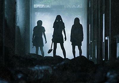 実写映画「がっこうぐらし!」不穏な校内に佇む女子高生3人のシルエット公開 - コミックナタリー