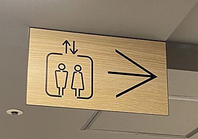 【デザインの敗北?】「これを看板に採用した者に呪いあれ!」エレベーターのピクトグラムが紛らわしくて人生終わりかけた - Togetter