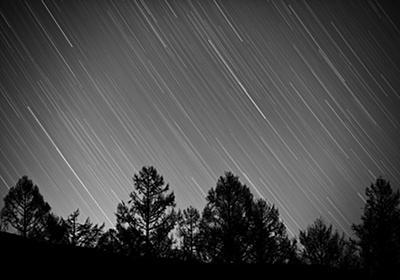 モノクロで描く星の軌跡! ~ついでに星の軌跡一発撮りの設定を確認してみました~ - Circulation - Camera