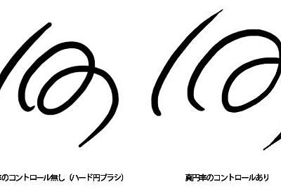 Photoshopでペン入れできるなめらかな線を描く方法 | 彦左虎肉丸
