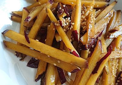 【秋の味覚】簡単レシピ・さつまいものきんぴら - HANAのおと