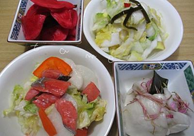 カブや白菜の漬物をペットボトルの重石で簡単に手作り♪ - 貯め代のシンプルライフと暮らしのヒント