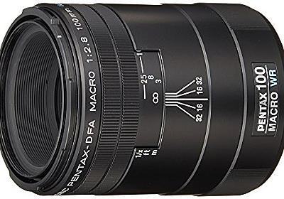 Amazon.co.jp: PENTAX 単焦点マクロレンズ 防滴構造 D FA MACRO 100mmF2.8 WR Kマウント フルサイズ・APS-Cサイズ 21910: Photography