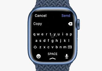 デベロッパー、Apple WatchのQuickPathは自分のアプリが元だと主張 - iPhone Mania