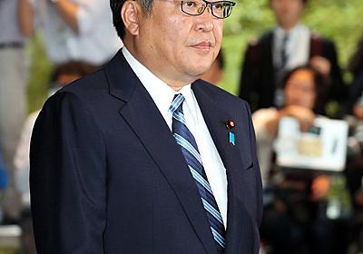 萩生田文科相「私の名前使い調整図った人が」 加計問題:朝日新聞デジタル