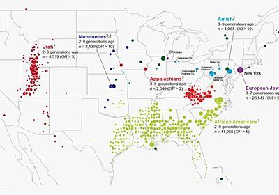 アメリカは「人種のるつぼ」ではない──世界最大級の遺伝子バンクの解析で判明|WIRED.jp