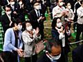 「政治とカネ」最大の争点に 参院広島再選挙、新人6人が舌戦 | 毎日新聞