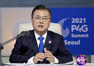 韓国政府SNSで「衰退する日本」の記述、批判受けてそっと削除 ネット上で「恥さらし」「首脳会談したいと言っていたのに」の声(1/4) | JBpress (ジェイビープレス)