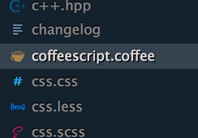Sublime Text 3 のサイドバーアイコン表示に対応したテーマ「Cobalt2」 | memobits