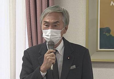 自民 石原伸晃元幹事長 コロナ感染確認で入院 | 新型コロナ 国内感染者数 | NHKニュース