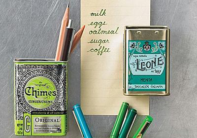 紅茶やキャンディーの缶でつくるストレージボックスがお手軽かわいい   ライフハッカー[日本版]