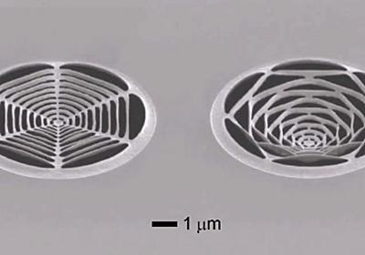 MITが10億分の1メートル単位で立体的な「切り紙」を作成することに成功 - GIGAZINE