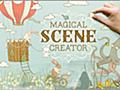 わずか数クリックで、かわいい素敵なイラストを作成できる魔法みたいなデザイン素材 -Magical Scene Creator   コリス