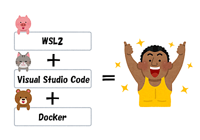 【連載】WSL2、Visual Studio Code、DockerでグッとよくなるWindows開発環境 〜 その1:まずは概要 〜 | SIOS Tech. Lab