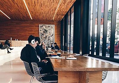 私のサンフランシスコでの作業場所。WiFiや電源のあるカフェ。 - 灰色ハイジの観察日記