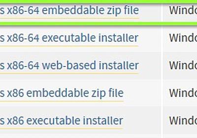組込版pythonを使ってvim8のif_pythonを有効化させる - クマーなひとときv2
