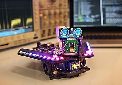 Raspberry PiとArduinoで動作——プログラム言語学習用ロボット「Spirit Rover」 | fabcross