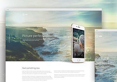 ウェブ初心者も安心して作成できる、無料HTMLテンプレート素材24個まとめ - PhotoshopVIP