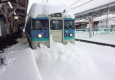 前代未聞の雪害 JR大月駅の120時間【1】 列車内で最長4泊した乗客もいた | PRESIDENT Online(プレジデントオンライン)