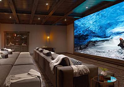 ソニーの「Crystal LED」が家庭のリビングへ 110インチでフルHD、790インチで16Kも - ITmedia NEWS