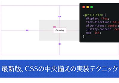 CSSの中央揃えで、最も万能で信頼できる実装テクニック | コリス